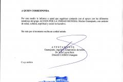 constancia CAISES Uriangato