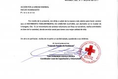 contancia cruz roja moroleon