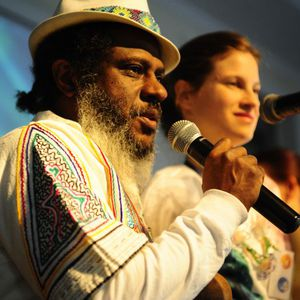 Manuel Rufino y esposa