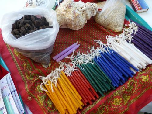 Ceremonia Maya, material