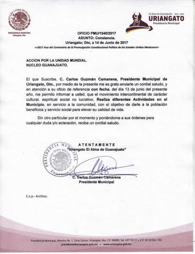 Presidencia Uriangato